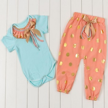 Colourful Stylish harem pant set