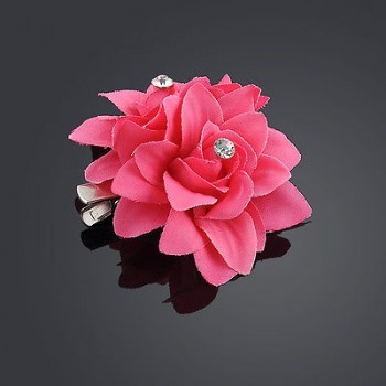 ROSE FLOWER CLIP PIN