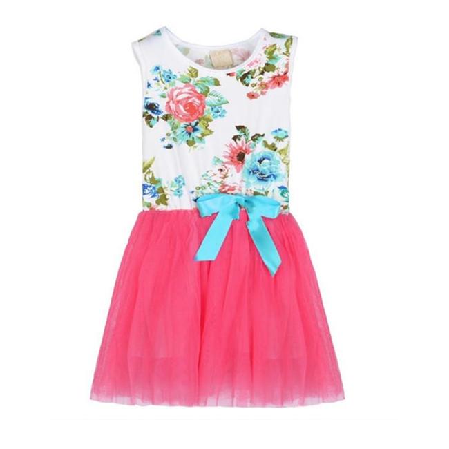 Baby Girl Rose Floral Summer Dresses