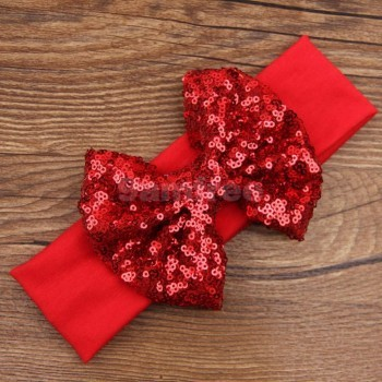 Red Sequin Headband